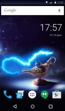 Magic Lamp Animated Keyboard + Live Wallpaper screenshot 5