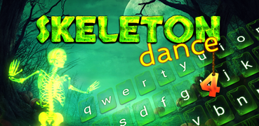 Skeleton Dance 4 Keyboard + Live Wallpaper