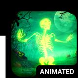 Skeleton Dance 4 Keyboard + Live Wallpaper