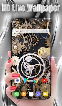 Mechanical Live Wallpaper