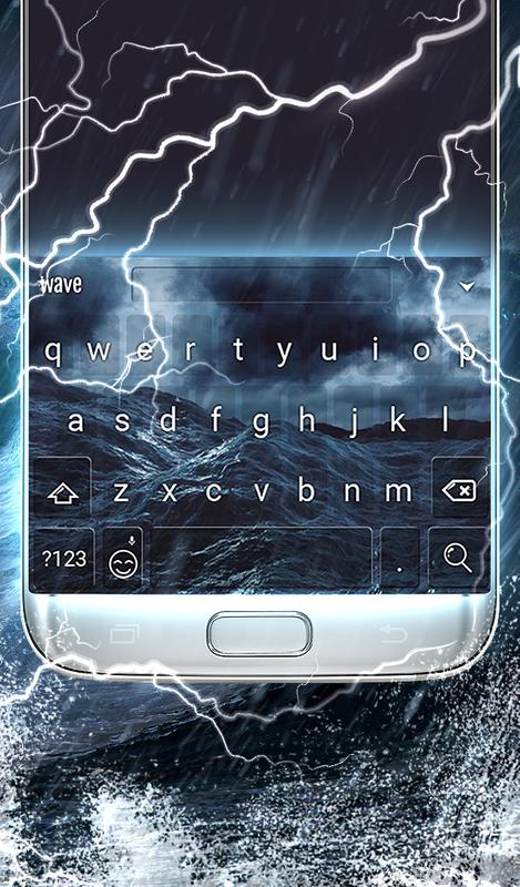 Stormy Sea Animated Keyboard Live Wallpaper For Android Apk Download
