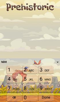 Prehistoric Animated Keyboard screenshot 4