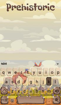 Prehistoric Animated Keyboard screenshot 1