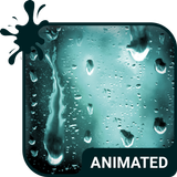 Rainy Day Animated Keyboard + Live Wallpaper