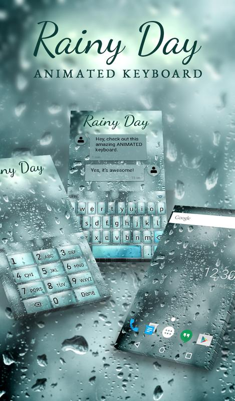Rainy Day Animated Keyboard Live Wallpaper For Android Apk Download