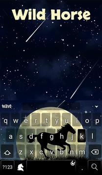 Wild Horse Animated Keyboard screenshot 1