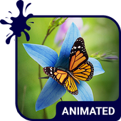 Butterfly Animated Keyboard + Live Wallpaper icon