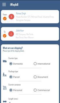 iWaybill - Cheapest Retail Courier booking screenshot 2