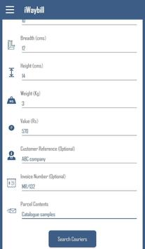 iWaybill - Cheapest Retail Courier booking screenshot 3