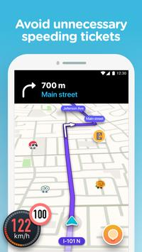 Waze screenshot 2