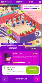 Idle Beauty Salon: Hair and nails parlor simulator screenshot 10