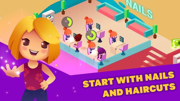 Idle Beauty Salon: Hair and nails parlor simulator screenshot 12