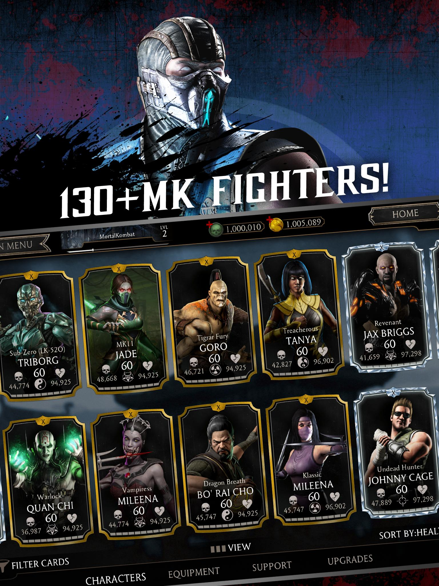 mortal kombat x android download play store