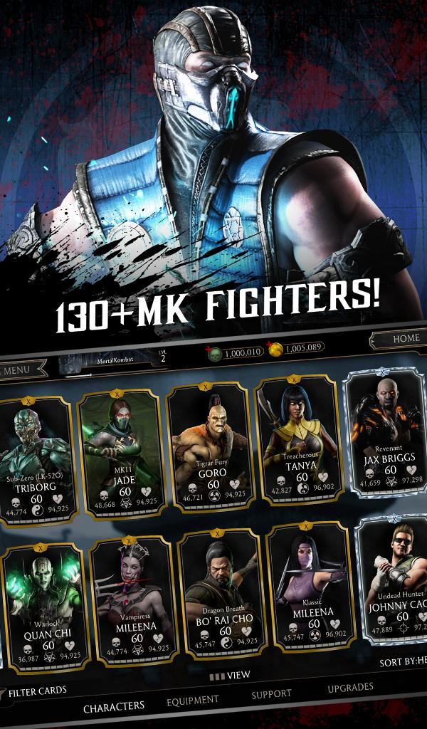 MORTAL KOMBAT X updated APK+OBB data file V2 1 2 download
