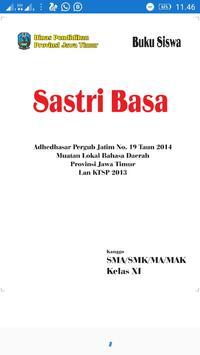 Bahasa Jawa Kelas XI poster