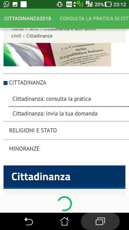 cittadinanza ita. e permesso di soggiorno for Android - APK Download