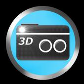 Camera 3D - 3D Photo Maker icon