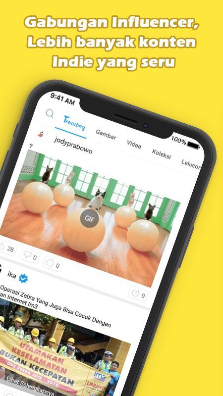 Aplikasi download untuk android iMeme