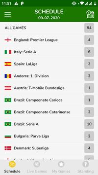 Football Fast Score - Football Live Score App 海报