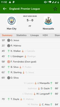 Football Fast Score - Football Live Score App 截图 2