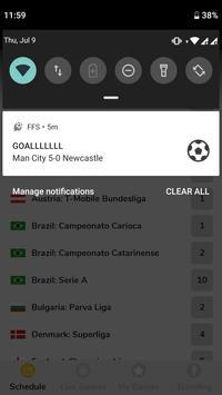 Football Fast Score - Football Live Score App 截图 4