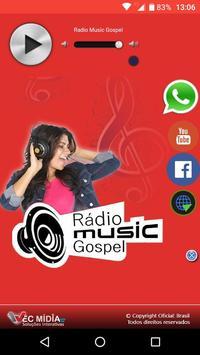 Rádio Music Gospel poster