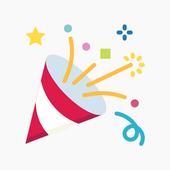 Birthday Stickers icon