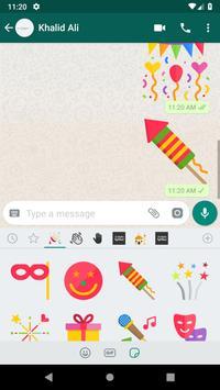 Birthday Stickers screenshot 2