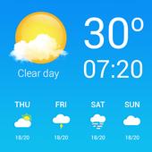 погода - прогноз погоды иконка