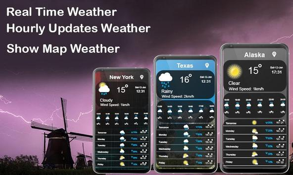 WMap Accurate Weather Updates poster