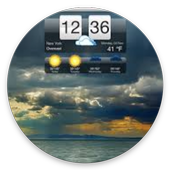 Weather realtime HD icon