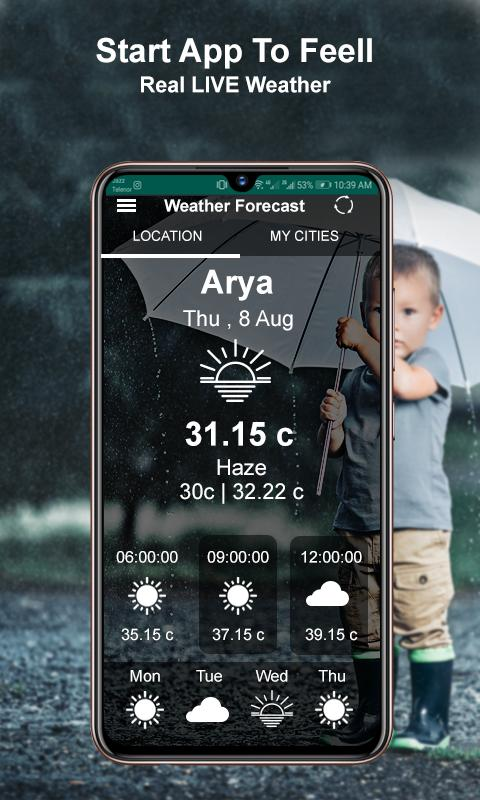 Weather Forecast weather Today : Weather Tomorrow for