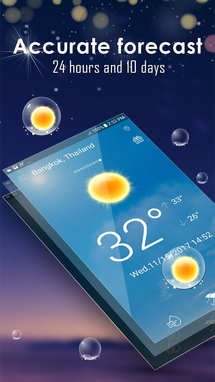 Hourly weather forecast for Android - APK Download