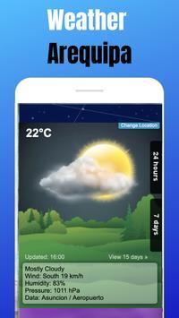 Weather Arequipa - Peru screenshot 6