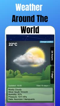 Weather Around The World poster