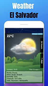 Weather El Salvador screenshot 12