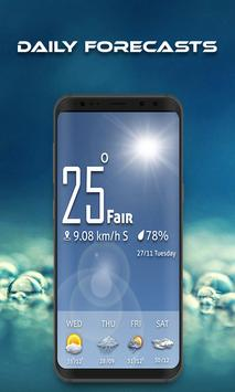 Weather Forecast, Weather Map& Weather Alerts 2020 poster
