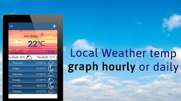 Weather Forecast Today - Local Weather Report for Android - APK Download