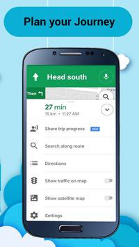 Maps Navigation and Direction - Weather Forecast screenshot 2