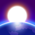 3D Earth - real earth image and space