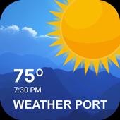 Weather Forecast & Live Radar Maps: Weather Port icon