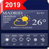 weather forecast 2019 - live weather updates icon