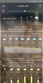 weather forecast 2019 - live weather updates poster