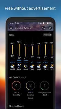 Weather & Widget - Weawow screenshot 3