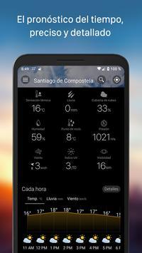 Tiempo y widget - Weawow captura de pantalla 3