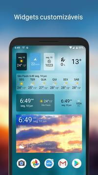 Clima & Widget - Weawow (Previsão do tempo) imagem de tela 1