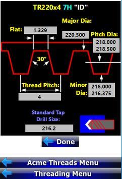 Threading Calculator screenshot 4