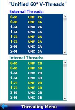 Threading Calculator screenshot 1