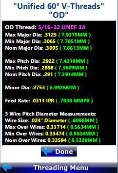 Threading Calculator screenshot 2