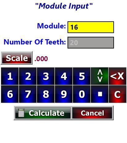 Spur Gear Calculator cho Android - Tải về APK